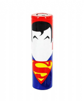 Wrap Superman pour accus 18650